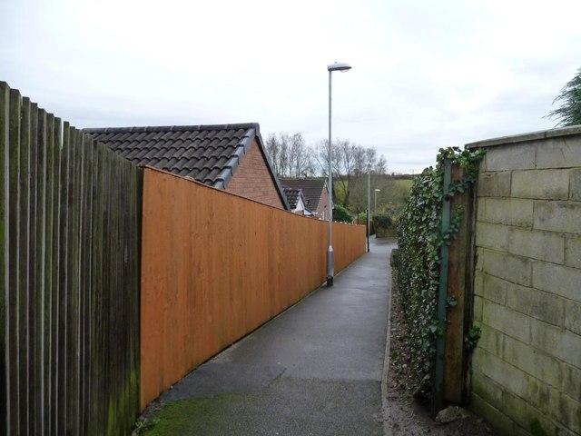 Public footpath, Barwick in Elmet