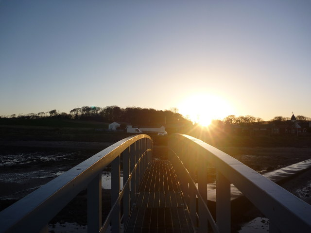 Coastal East Lothian : Sunrise On The Bridge