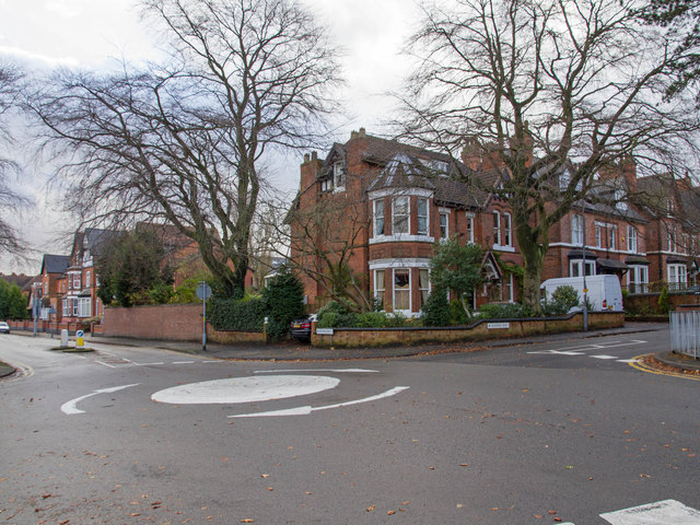 Junction of Oxford Road and School Road