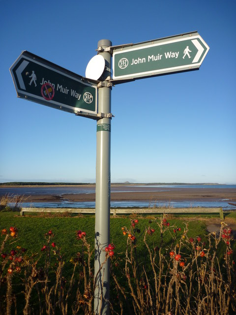 Coastal East Lothian : The John Muir Way At Belhaven