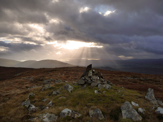 Summit of Beinn Tuath