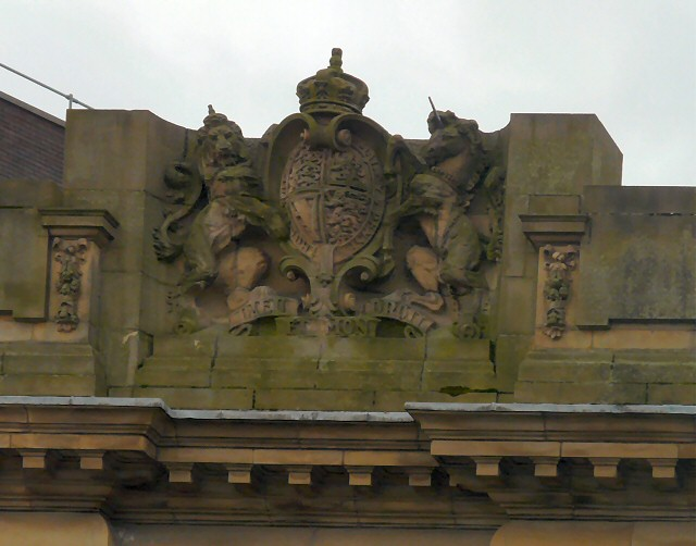 Coat of Arms on former Post Office