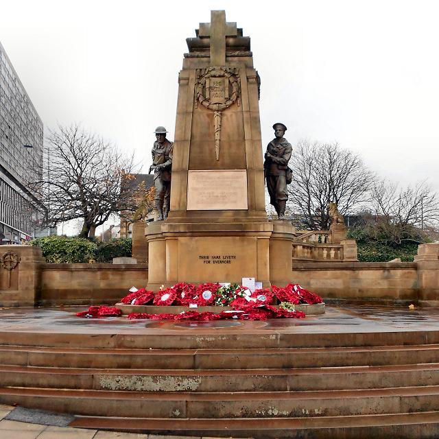 Bradford, Victoria Square War Memorial