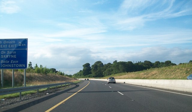 The northbound lanes of the M3 some 2kms south of Junction 7