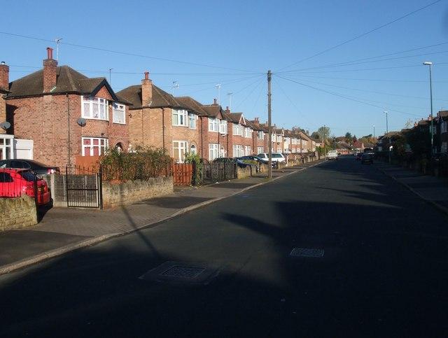 Trentham Drive, Nottingham
