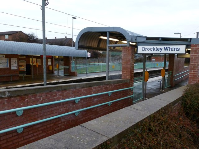 Brockley Whins Station