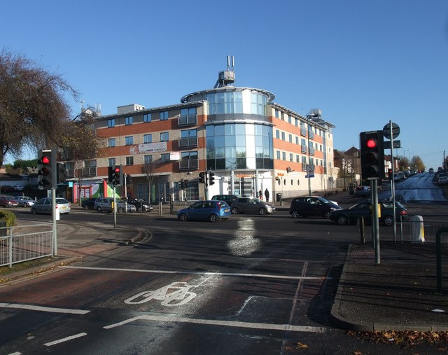 Junction of Melbourne Road with Nuthall road (A610)