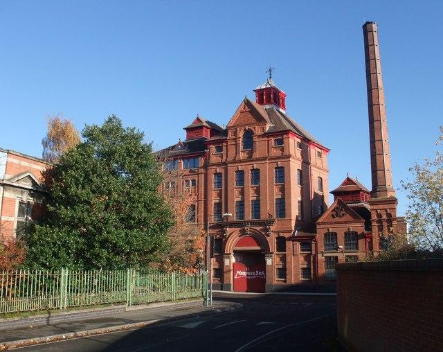 Former brewery, Alpine Street, Old Basford