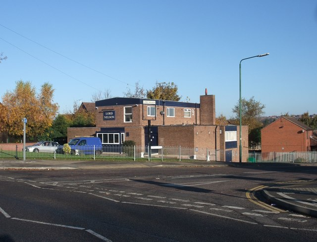 Lord Nelson, corner of Percy Street and Cowley Street, Old Basford