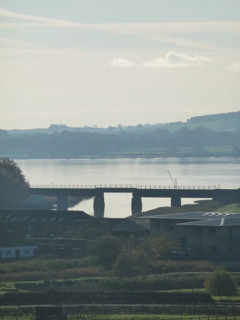 Railway bridge and the River Exe