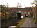 SJ8698 : Ashton Canal, Bridge#6 at Cambrian Street by David Dixon