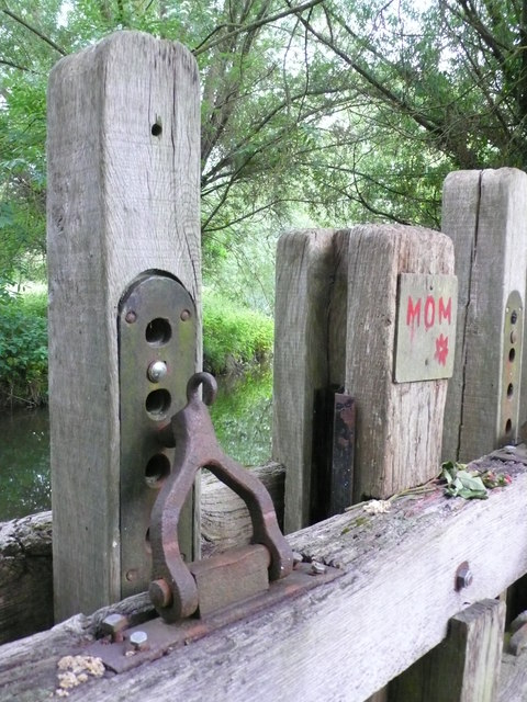 Watermill Sluice Gate Lock Mechanism