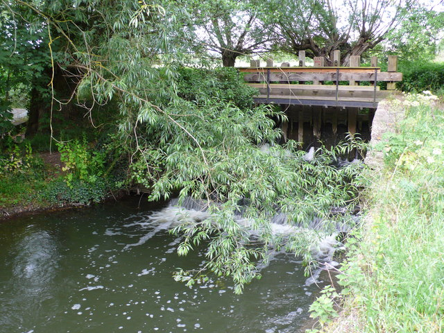 Water mill sluice gates