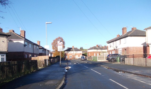 Saxton Street - Leeds Road