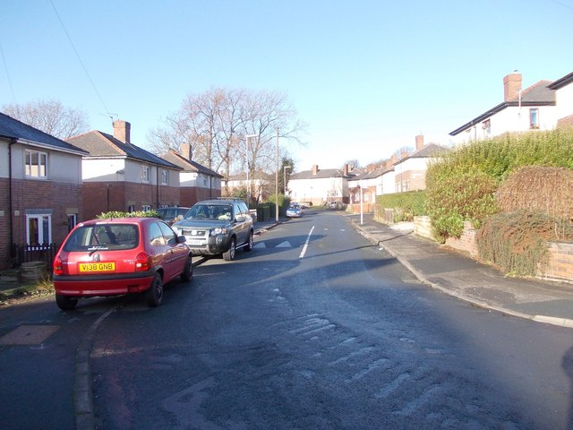 Firthcliffe Grove - viewed from Saxton Street