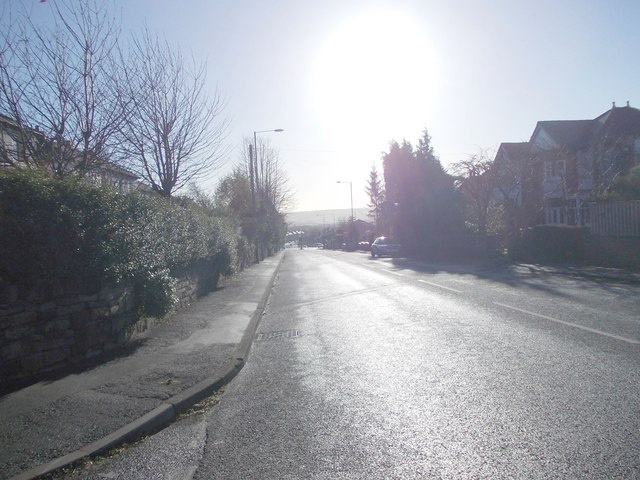Gomersal Road - viewed from Prospect Road