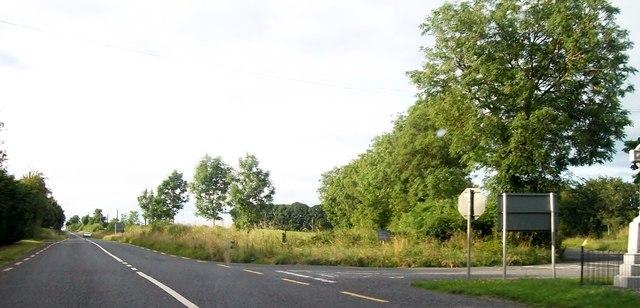 Junction of the R162 (Navan/Kingscourt) Road at Mullens Cross Roads, Co. Meath