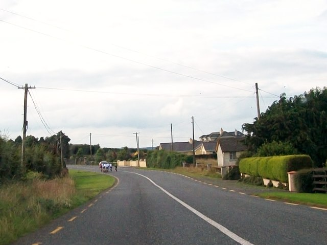 Houses on a bend on the R162 at Williamstown