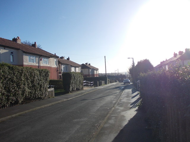 Prospect Road - viewed from Stubley Road
