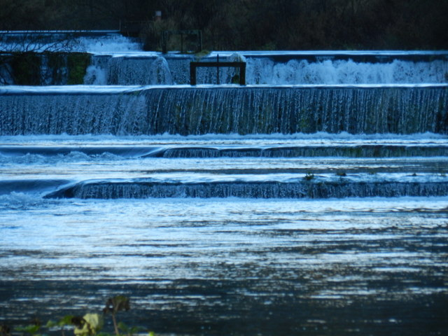 Weirs on the Lathkill