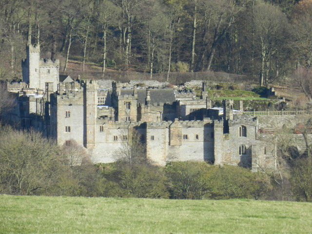 Haddon Hall, from Haddon Fields