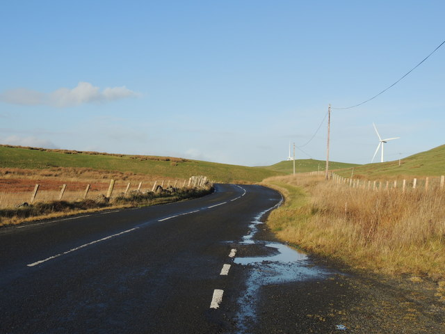 Road to Old Dailly near Penwhapple