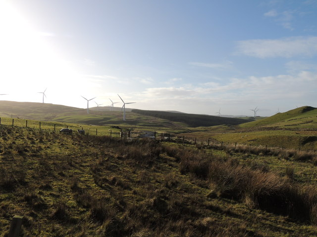 Hadyard Hill Windfarm at Balcletchie