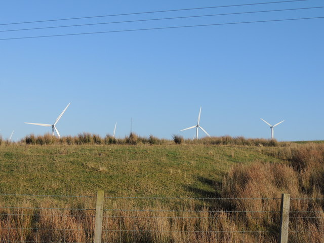 Hadyard Hill Windfarm at Penwhapple