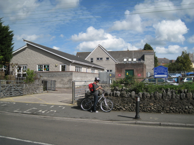 Access to primary school car park and a substation