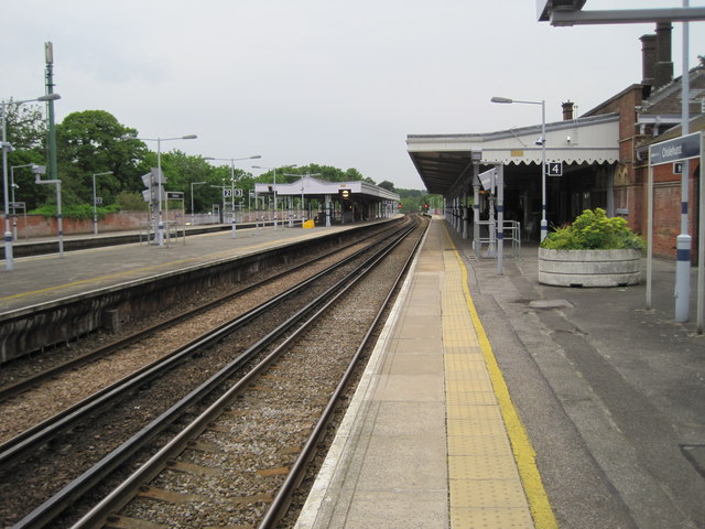 Chislehurst railway station, Greater London