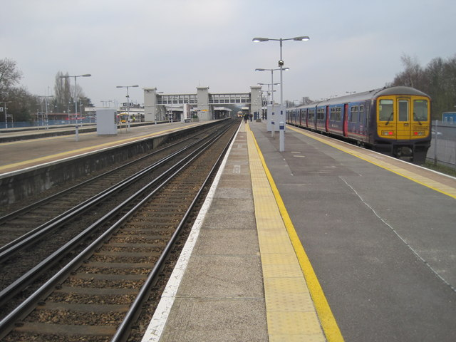 Orpington railway station, Greater London