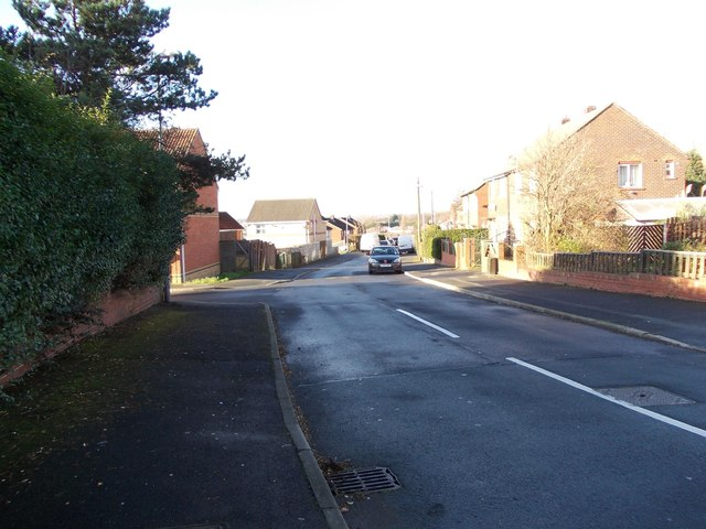 Hadfield Road - viewed from Bevor Crescent