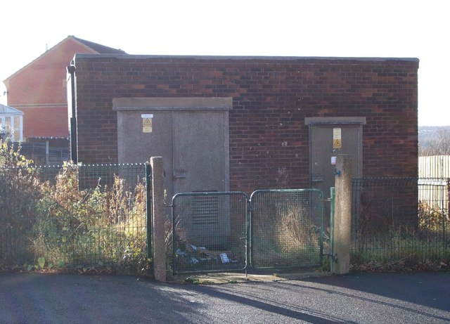 Electricity Substation No 421 - Hadfield Road