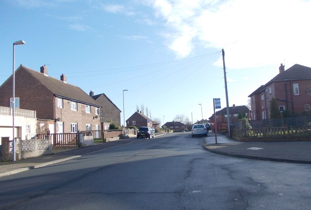 Scott Avenue - viewed from Royd Avenue