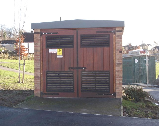 Electricity Substation No 1473 - Little Green Lane
