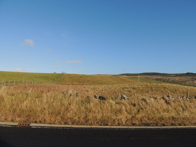 Farmland and Moorland Opposite Brockloch Junction