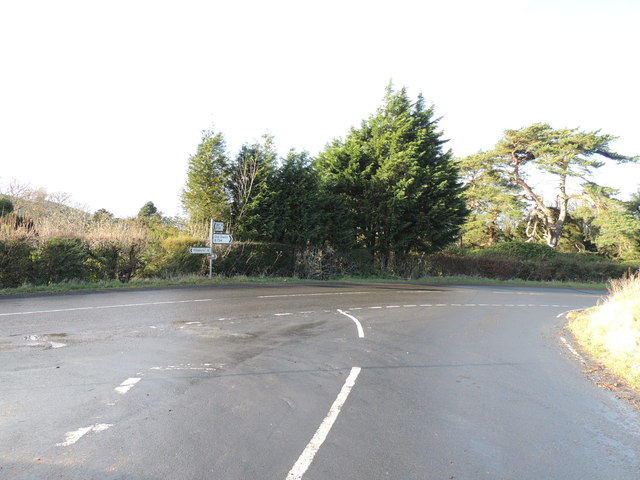 Junction of the Barr,Pinmore and Old Dailly Roads