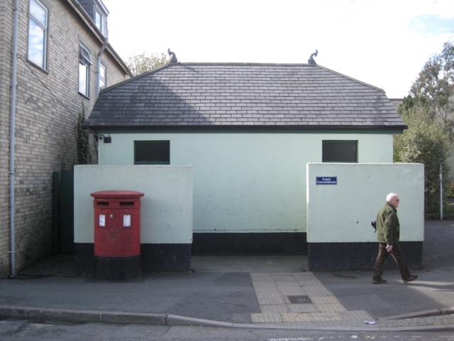 Public conveniences, Newton Road