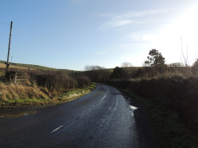 Road to Pinmore near Penkill