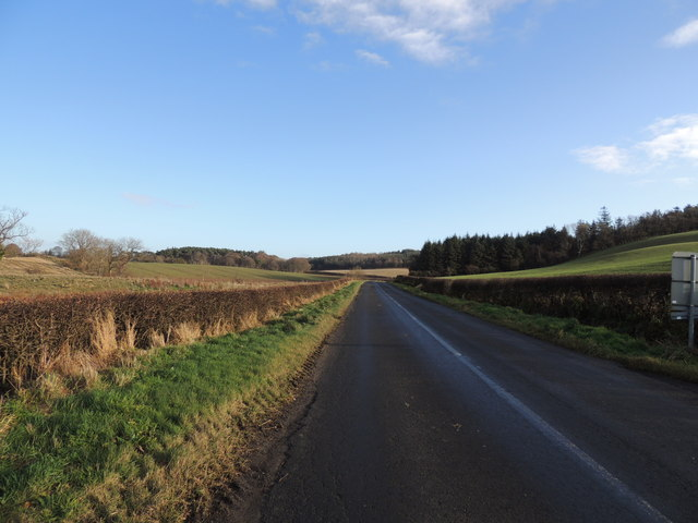 Road to Dailly near Old Dailly