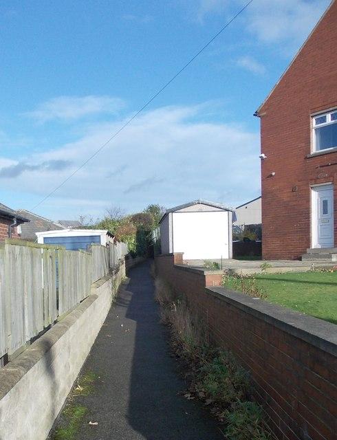 Footpath - Westfield Road