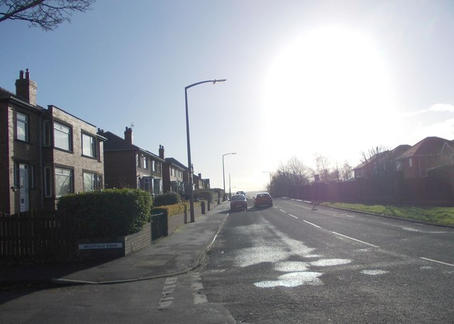New North Road - viewed from Westfield Road