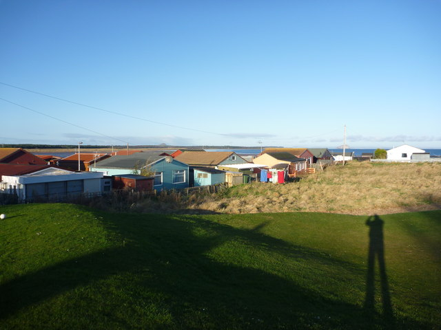 Coastal East Lothian : Low Sun At Winterfield Mains