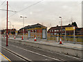 SJ8998 : Metrolink Construction, Cemetery Road Tramstop by David Dixon