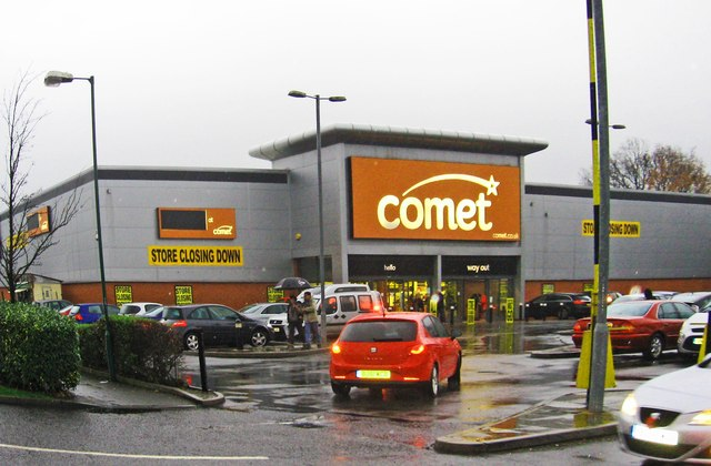Comet, Sears Retail Park, 131 Marshall Lake Road, Solihull