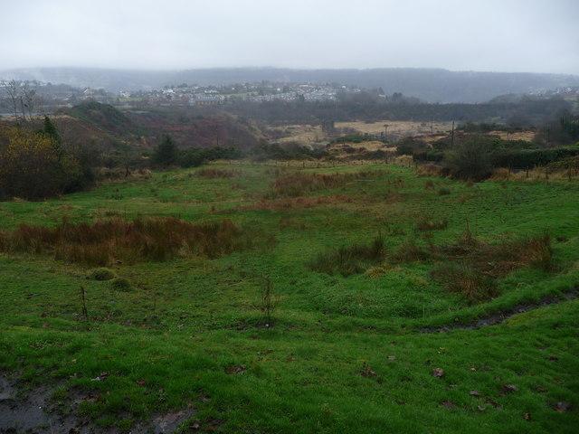 Scene above Abersychan