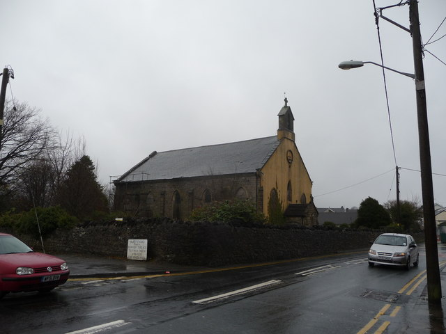 Derelict chapel in Talywain, Abersychan