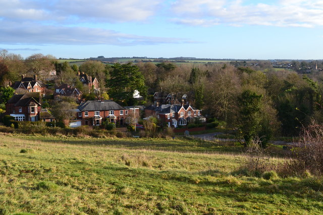 View across Shawford Down