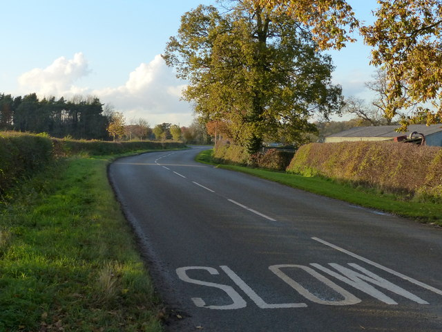 Slow along Beeby Road