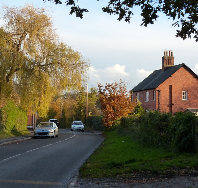 Beeby Road in Barkby